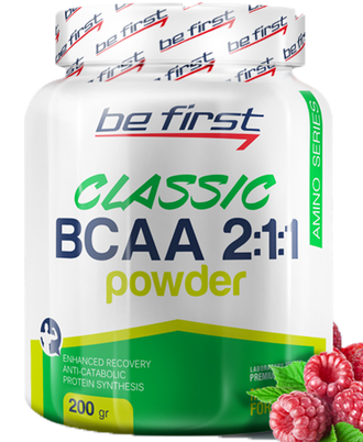 BCAA 2:1:1 Classic Powder Be First 200 г (Малина)