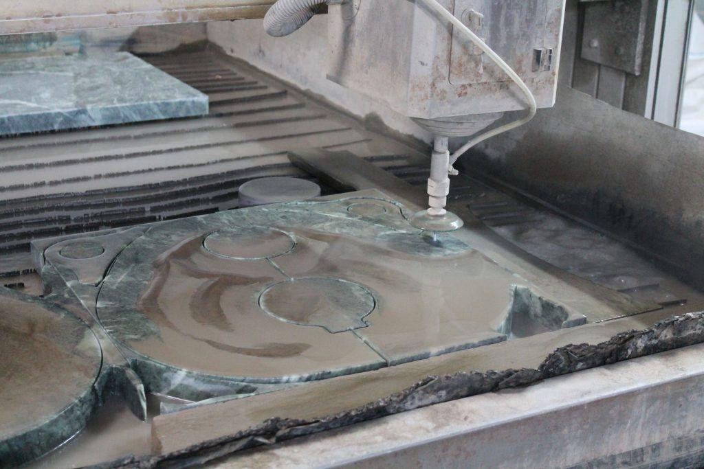Обработка камня на заводе «Ферингер и К»