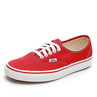 Кеды Vans Authentic красные
