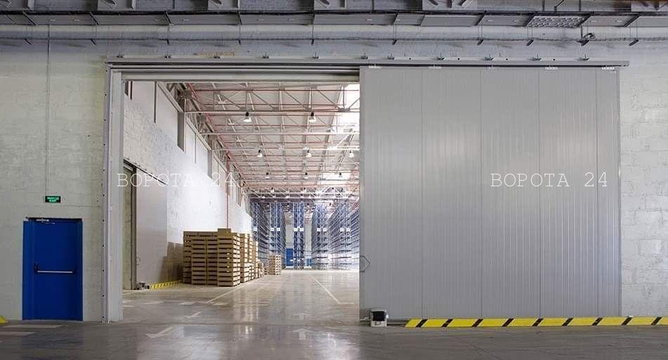 Въездные промышленные ворота
