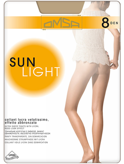 Omsa™ Sun Light 8 den (2-5 размеры)