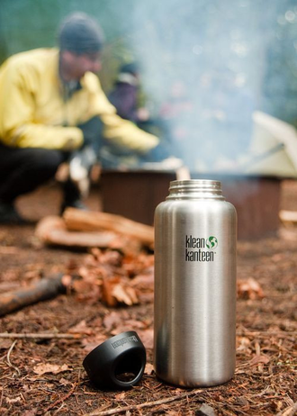 Бутылка Klean Kanteen WIDE 1182 мл (40oz) Brushed Stainless