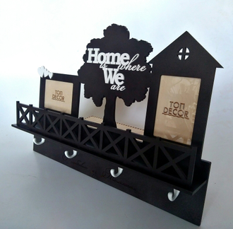 "Ключница ""home where we are"""
