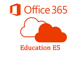 Microsoft Office 365 EDUE5w/oPSTNOpenFac ShrdServer  SNGL SubsVL OLP NL Annual Acdmc Qlfd