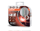 Ксеноновые лампы OSRAM D3S Xenarc Night Breaker NEXT (+200%) 2 шт 66340XNL-HCB
