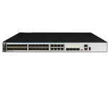 Коммутатор Huawei S5720-32C-HI-24S-AC(24 Gig SFP,8 of which are dual-purpose 10/100/1000 or SFP,4 10 Gig SFP+,with 2 interface slots,with 600W AC power supply)