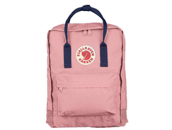 Рюкзак Fjallraven Kanken Pink - Royal Blue (Mini)