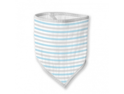 Бандана-нагрудник Marquisette Blue Simple Stripes