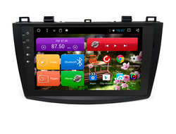 "Автомагнитола MegaZvuk T8-9067 Mazda 3 (BL) (2009-2013) на Android 8.1.0 Octa-Core (8 ядер) 9"" Full Touch"
