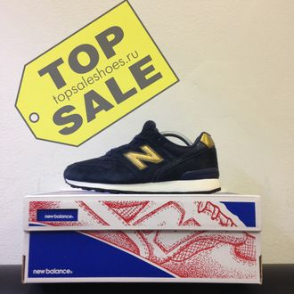 New Balance 996 Navy-Gold