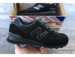 Кроссовки New Balance 574 All Black