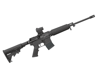 "Bushmaster XM-15 QRC-16"" w/Mini Red Dot"