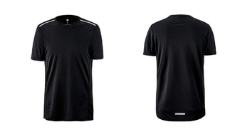 Футболка спортивная Xiaomi quick-drying short sleeved T-shirt black размер Xl