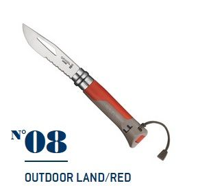 Нож Opinel №08 Outdoor Earth-red
