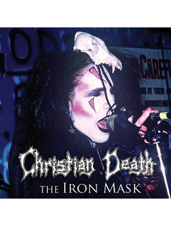 Christian Death - The Iron Mask LP Blue