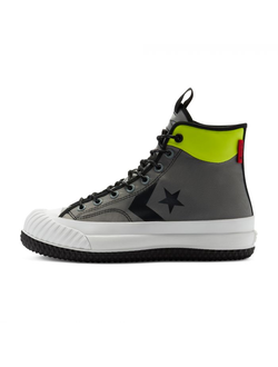 Кеды Converse (Конверс) Bosey Mc Gore Tex High Top серые