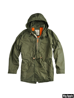 Куртка Light Weight Fishtail Alpha Industries Green