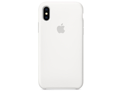 Чехол-накладка Apple Silicone Case iPhone White