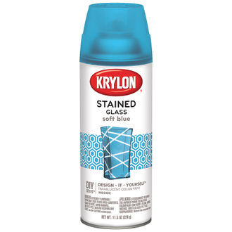 Krylon Stained Glass Soft Blue 9029