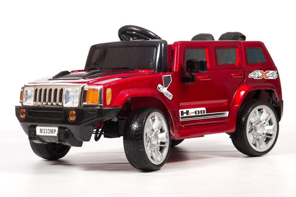 Детский электромобиль BARTY Hummer М333МР (HL 1658) вишневый глянец от 12 000 руб