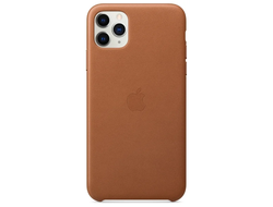ЧЕХОЛ APPLE КОЖАНЫЙ ДЛЯ APPLE IPHONE 11 PRO MAX brown