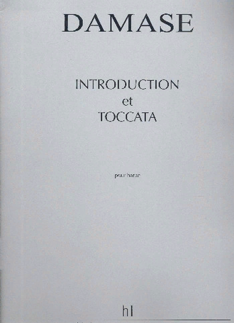 Damase, Jean-Michel. Introduction et toccata: pour harpe