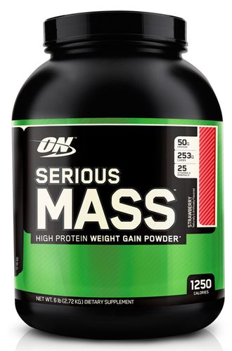 (Optimum Nutrition) Serious Mass - (2.27 кг) - (шоколад)