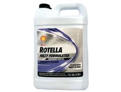 Shell Rotella FULLY FORMULATED Coolant/Antifreeze WITH SCA 50/50  4л