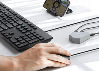 Конвертер Xiaomi FlyDigi Q1 mobile game mouse and keyboard converter