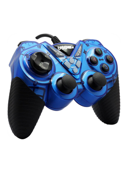 Геймпад Double Shock Controller USB-908 (синий)