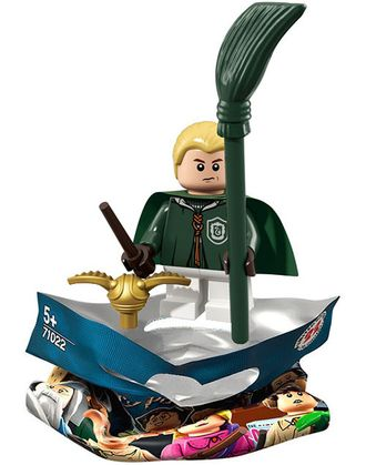 # 71022/4 Драко Малфой в Форме Игрока в Квиддич  / Draco Malfoy in Quidditch Robes