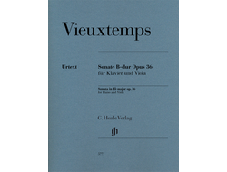 Henry Vieuxtemps Viola Sonata in B flat major op. 36
