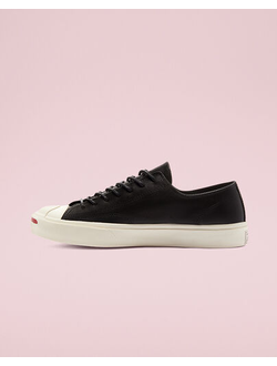 Кеды Converse Color Premium Leather Jack Purcell черные