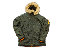 Куртка NORD DENALI HUSKY SHORT Rep.Grey/Orange  NEW!