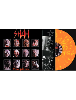 Shah - Terror Collection LP Splatter