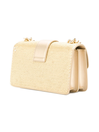 Pinko Love Mini Bag Gold