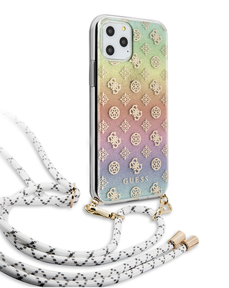 Чехол Guess 4G Cord collection Hard Iridescent для iPhone 11 Pro