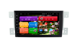 "Автомагнитола MegaZvuk PH-8701 Suzuki Grand Vitara (2005+) на Android 6.0.1 Quad-Core (4 ядра) 8"" Full Touch"