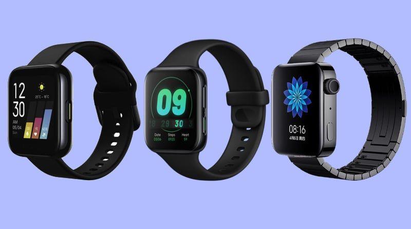 Oppo Watch против Mi Watch и Realme Watch в чем разница