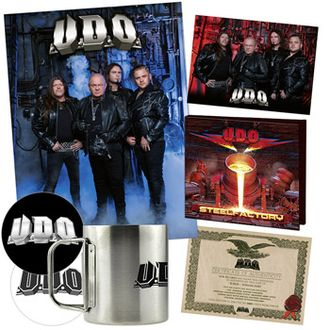 U.D.O. - Steelfactory CD BOX SET