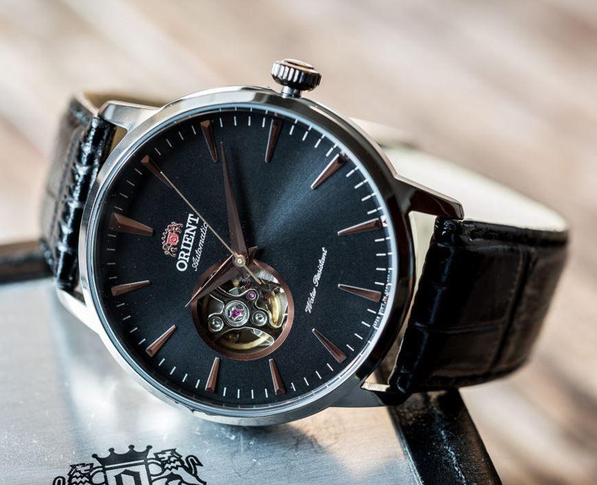 3583bc76 Мужские японские механические наручные часы Orient AG02001B купить в ...
