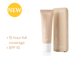 Тональный крем RUN FOR COVER LONGWEAR SPF10 PAESE