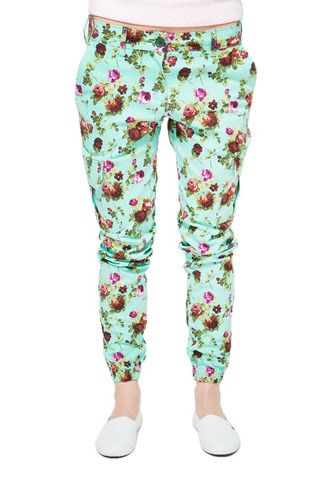 Штаны HIDE city cargo type b2 woman (floral)