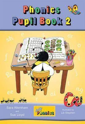 Jolly Phonics Pupil Book 2 (colour edition) : in Precursive Letters