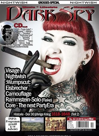 DARK SPY Magazine № 64 Nightwish, Visage Cover, Flake, Rammstein Inside ИНОСТРАННЫЕ МУЗЫКАЛЬНЫЕ ЖУРН
