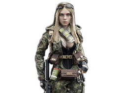 КОЛЛЕКЦИОННАЯ ФИГУРКА 1/6 scale Action figure Python Stripe Camouflage - Villa Sister Flower (Jungle Python Stripe) (VCF-2035B) - VERYCOOL