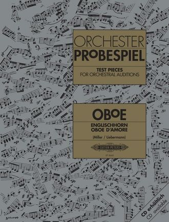 Test Pieces for Orchestral Auditions (Oboe)