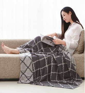 Плед Xiaomi Combed cotton knit blanket Everynight (80*140 см)