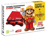 "Sega - Dendy ""Hamy 4"" (350-in-1) Mario Red"