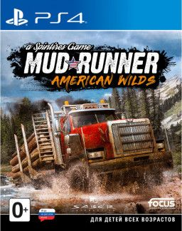 Игра для ps4 Spintires: MudRunner. American Wilds